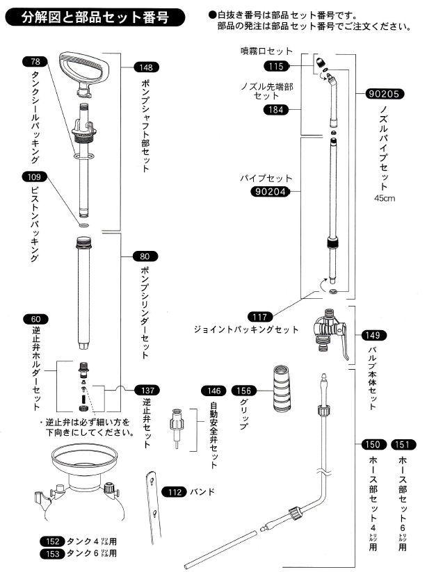 カメムシ用キンチョール乳剤(1L)ダイヤスプレー8740セット 説明画像8