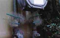 防鼠ブラシRR-40 施工例1