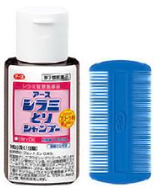 アースシラミとりシャンプー  製品特徴 [第2類医薬品、害虫駆除、対策、シラミ、シャンプー]