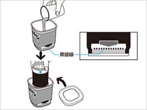 水ではじめるバルサン プロEX 使用方法2 [第2類医薬品、害虫駆除、水ではじめる、くん煙剤、バルサン、ゴキブリ、ノミ、ダニ、南京虫]