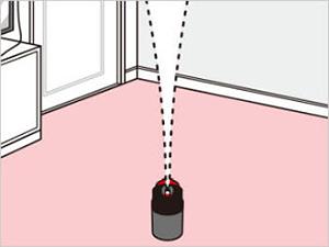 バルサン プロEX ノンスモーク霧タイプ 使用方法3 [第2類医薬品、害虫駆除、ノンスモーク、くん煙剤、バルサン、ゴキブリ、ノミ、ダニ、南京虫]