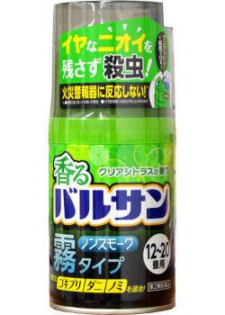 香るバルサン クリアシトラスの香り 12-20畳用  商品画像 [第2類医薬品、害虫駆除、くん煙剤、バルサン、ゴキブリ、ノミ、ダニ、南京虫]