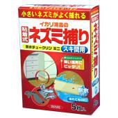 耐水チュークリン ミニ イカリ消毒の粘着式ネズミ捕り スキ間用