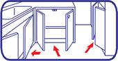 キンチョウジェット 煙タイプ  使用方法1 [第2類医薬品、害虫駆除、退治、対策、燻煙、ゴキブリ、ダニ、南京虫、トコジラミ]