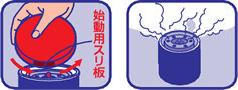 キンチョウジェット 煙タイプ  使用方法2 [第2類医薬品、害虫駆除、退治、対策、燻煙、ゴキブリ、ダニ、南京虫、トコジラミ]