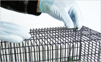 ネズミ捕獲器 角型ネズミ捕り ブラックBOX23K 栄工業