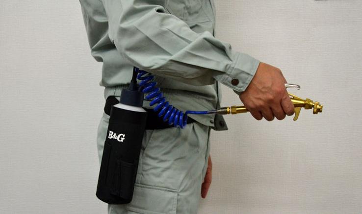 B&G Mini プロ用小型スプレーヤー 害虫駆除業者用も納得のあらゆる工夫を施した設計