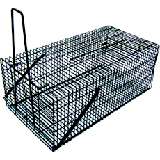 角型ネズミ捕り ブラックBOX23K 商品画像 [ネズミ駆除、対策、捕獲器、栄工業]