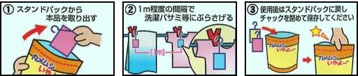 カメムシ忌避剤 カメムシいやよ~ 説明画像