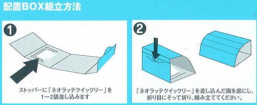 配置BOXの組立方法