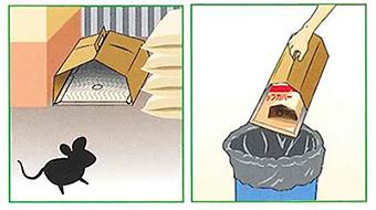 トラップカバー 使用例