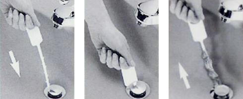 ジップイット 使用方法 [配管パイプ、つまり解消、詰まり、お風呂、洗面台]